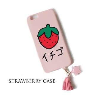 Strawberry Case for Iphone 6+