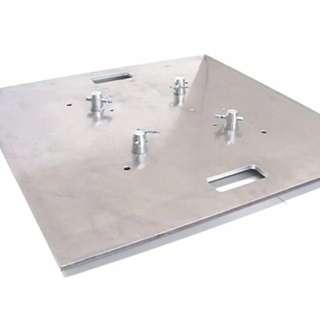TRUSS Base Plates 2.5ft X 2.5ft square (2 Silver units)