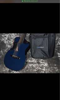 Journey of660 carbon fiber detachable travel guitar with lrbaggs lyric pickup
