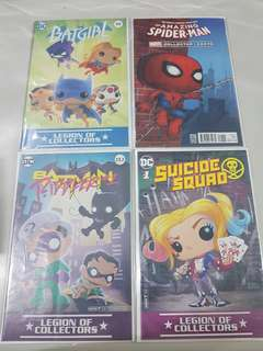 Funko Subscription Box Comics