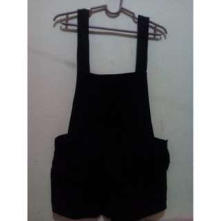Black Jumper Short