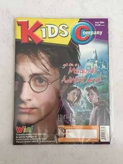 Harry Potter June 2004 Kids Company magazine