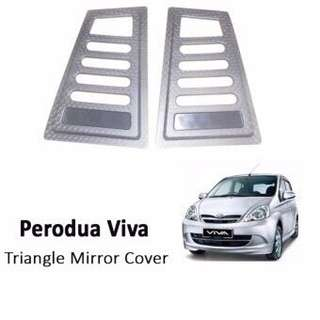 Perodua Viva carbon window cover