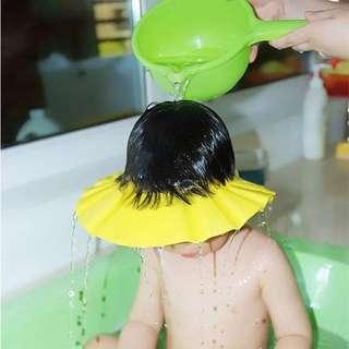 Adjustable baby shampoo bath shower cap for babies kinds and children