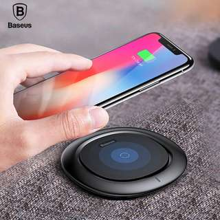Baseus Ufo Series Qi Wireless Fast Charging Pad for iPhone X-8-8 Plus Galaxy S8-S8 Plus Note 8 Original