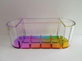 Rainbow Desktop Organiser