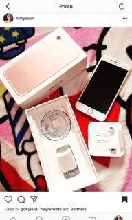 Iphone7 32 rosegold
