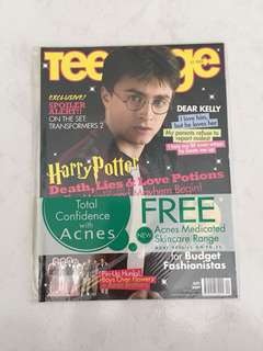 Harry Potter July 2009Teenage Magazine