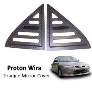 Proton Wira triangle window cover