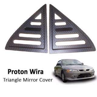 Proton Wira triangle window cover