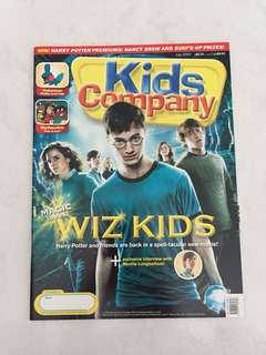 Harry Potter Kids Company July 2007 magazine