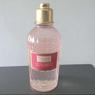 Loccitane Roses et Reines Silky Shower Gel
