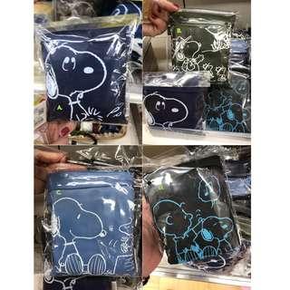 #享樂生活日本六月連線  史奴比收納旅行袋  Snoopy packs travel bags