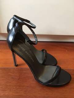 🈹限時優惠$1020 - 二折80%OFF🈹Stuart Weitzman Black Heel Size 37 #女神鞋