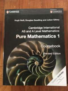 A Level Pure Mathematics Coursebook Cambridge Int'l