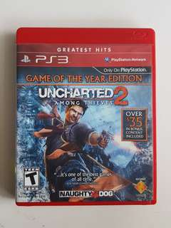 Ps3 Uncharted 2 Among Thieves Game