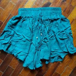 Teal Shorts - Shortcuts Apparel