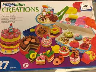 Dessert Buffet play dough set