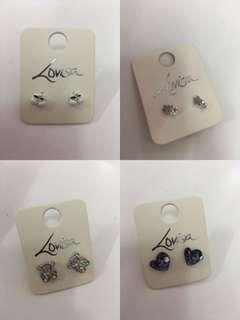 2 for RM15 Lovisa Earrings