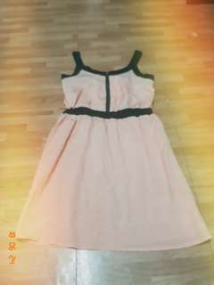 Peach barbie dress for kids