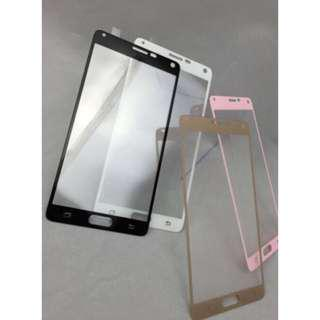 🚚 Samsung Coloured Tempered Glass