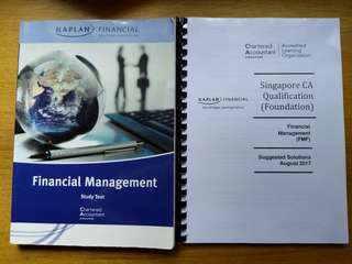 CA Foundation Financial Management FMF