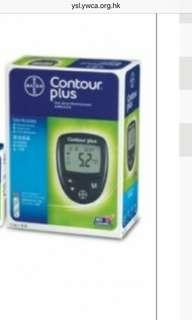 全新Contour Plus 血糖機 (不連針和試紙)