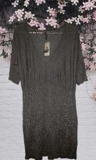 thyme grey dress