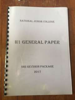 NJC GP Revision package