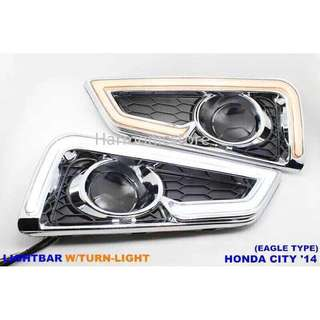 Honda City'14 Oem Daylight W/Turn Light Eagle Type (1pair)