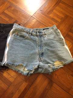Hot Pants Light blue