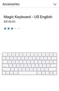 Brand new Apple Wireless Keyboard