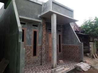 Rumah baru tahap finishing