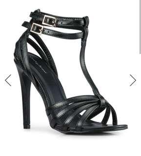 Brandnew Something Borrowed double ankle open toe heel