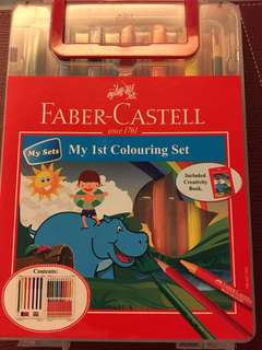 Faber Castell My 1st Colouring Set