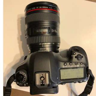 Canon EOS 5D Mark III with Canon EF 24-105mm f/4.0 IS USM L Lens