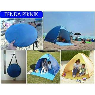 Tenda piknik buka otomatis