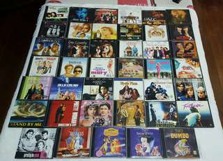 All Original VCDs (P25 each)