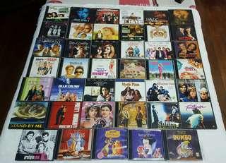 All Original VCDs (P25 each)