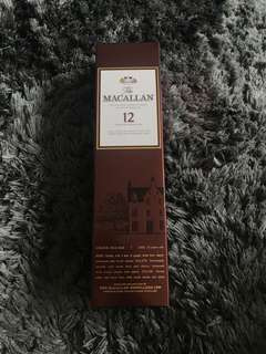 Macallan 12 Sherry Oak Whisky