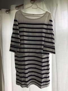 Muji Striped Dress
