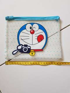 Doraemon clear Pouch with zip