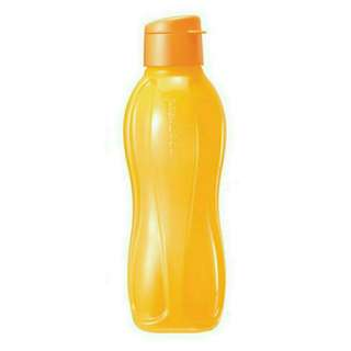 Tupperware Eco Bottle Flip Top 1.0L (1) Yellow
