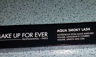 NEW!!Aqua Smoky Last Mascara Make Up For Ever