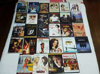 All Original DVDs (P90 each)