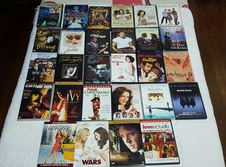 All Original DVDs (P90 each)