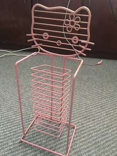 Hello kitty CD rack