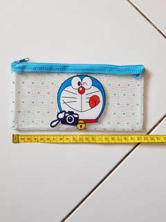 Doraemon clear pencil case /pouch