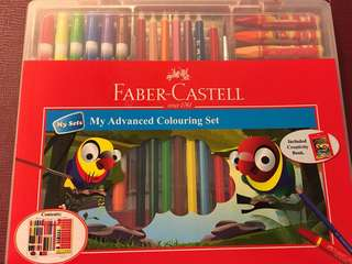 Faber Castell My Advanced Colouring Set