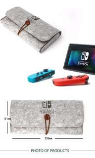 Pre-order! Nintendo Switch Soft Cloth Case Cover in Grey